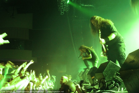 In Flames live at Myth