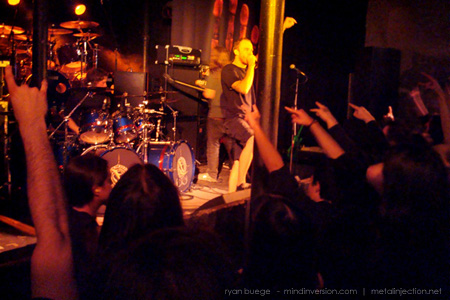 The Faceless live at Station 4