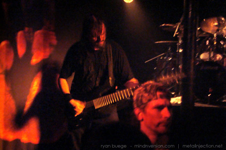Meshuggah live at Station 4