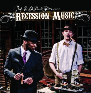 Recession Music Front Cover