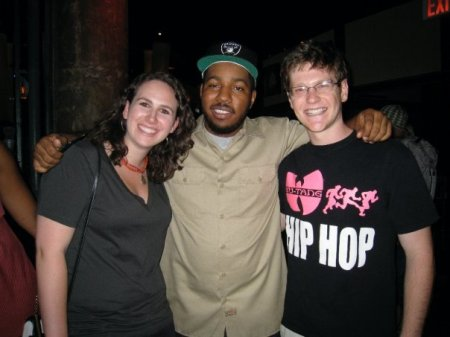 Me, Chuck Inglish, and my friend Sam